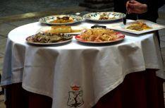 Algunos platos de cardo rojo de Ágreda./AA