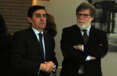 Santiago Aparicio (dcha.) y Carlos Martínez Izquierdo./SN