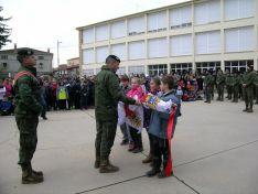 El acto central en el colegio de Navaleno./Subdelg.