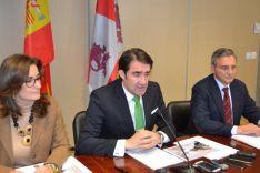 El Consejero de Fomento y Medio Ambiente en Soria