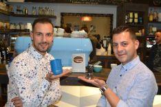 Héctor Hernández y Javier Carrión en Enjoy Coffee