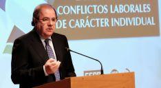 Herrera, en la jornada de procedimientos de conciliación, mediación y arbitraje.