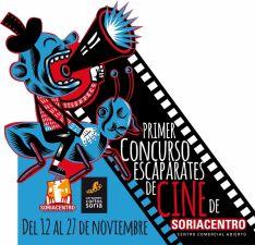 Soriacentro estrena el Concurso Escaparates de Cine