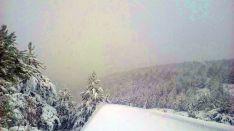 Nieve en Tierras Altas. /SN