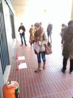 Concentración ante la oficina de Gas Natural Fenosa. /SN