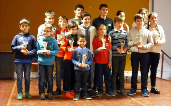 Los ganadores del torneo. / CDAAN