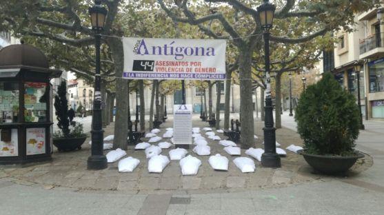Antigona trata de sensibilizar a la sociedad soriana. SN
