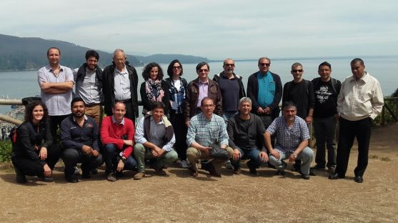 Algunos de los participantes en el congreso internacional./Subdeleg.