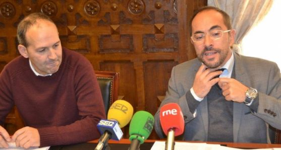 Alberto Abad y Luis Rey
