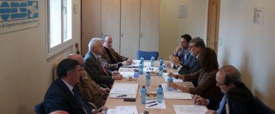 Reunión entre FOES y el Consejo Social de la UVa. / FOES