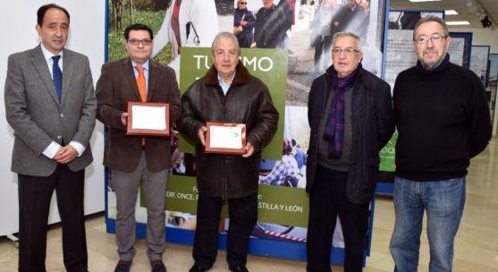 López (izda.), Alonso, Gil Martínez, Gallego y De la Casa. / Jta.