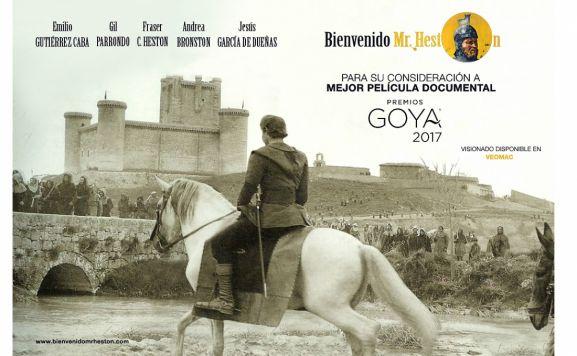 Está basado en el rodaje del filme 'El Cid'.