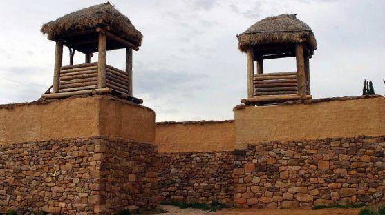 Imagen de la muralla del yacimiento./numanciasoria.es