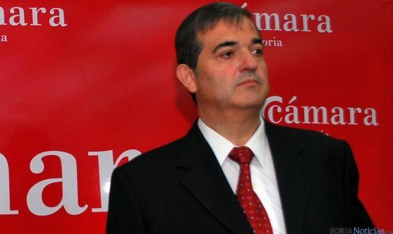 Alberto Santamaría, presidente de la Cámara de Soria./SN
