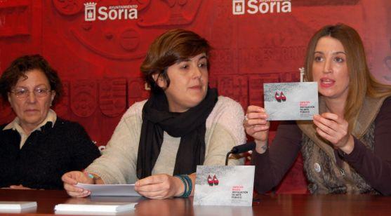 De la Viña (izda.), Andrés y García en la presentación de la jornada. / Ayto.
