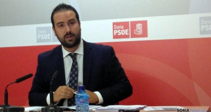 El procurador socialista soriano Ángel Hernández. / SN