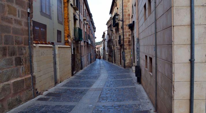 Una de las calles del Casco viejo./SN