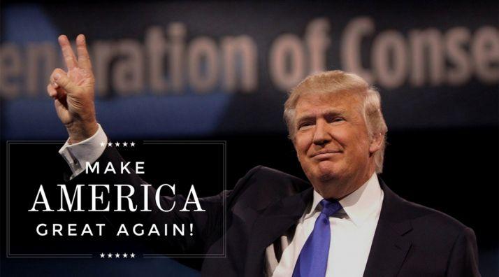 Trump, en una imagen de campaña. /DT
