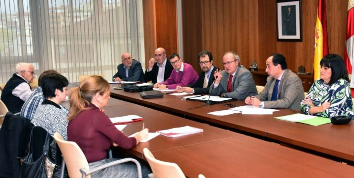El Consejo de Salud de Área de Soria reunido este miércoles. /Jta.