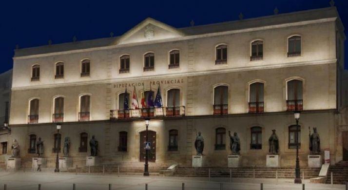 Iluminación prevista del edificio.
