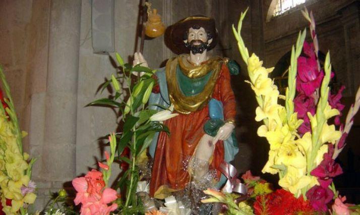 Imagen de San Roque.