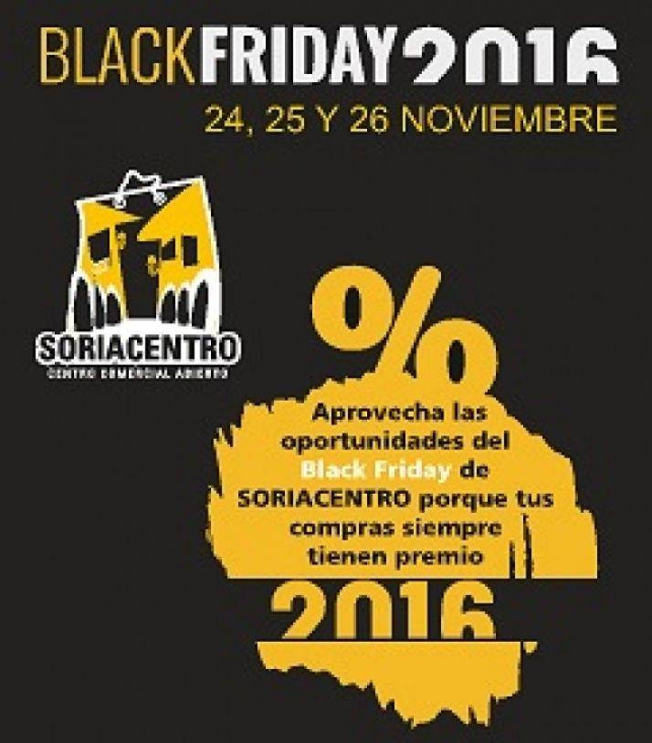 Foto 1 - El Black Friday ofrecerá descuentos en más de 40 establecimientos de Soriacentro