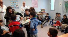 Los alumnos en el hospital./CA