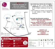 Ordenación del tráfico en Urbión.