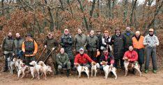 Participantes en el certamen de caza.