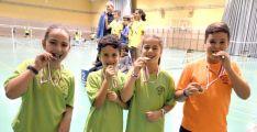 Los pequeños también logran medallas.