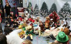 Belén viviente en el centro infantil Gloria Fuertes