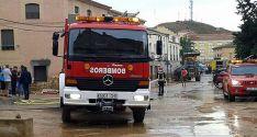 Un camión autobomba de la Diputación./ SN