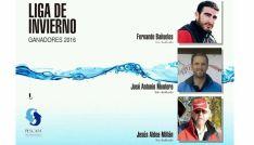 Los tres pescadores sorianos, ganadores.