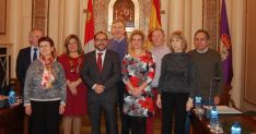 Homenaje a los jubilados de Diputación.