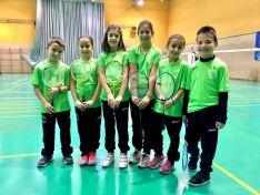 Jugadores del Valonsadero Badminton