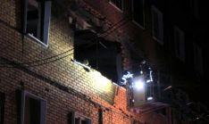 Imagen del inmueble tras la explosión./SN