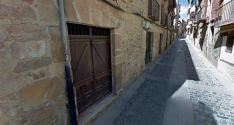 Local propiedad de la Diputación en la calle Zapatería./GM