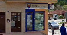 La administración de Lotería donde se selló el boleto./GM
