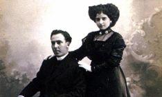 El matrimonio en una imagen de archivo.