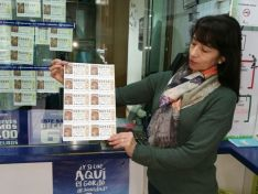 La lotera de la Adm nº3 de la capital. SN