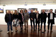 Inauguración de la exposición. /Junta