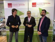 Carlos Martínez, Ramón Jaúregui y Luis Tudanca.