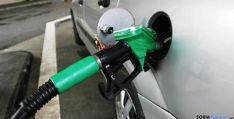 Un surtidor de combustible en la provincia.