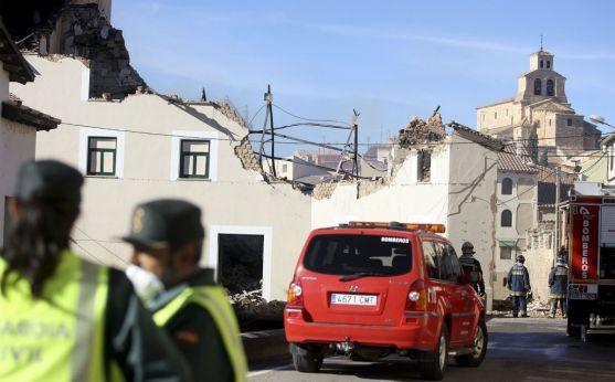 Imagen del operativo en el incendio. /SN