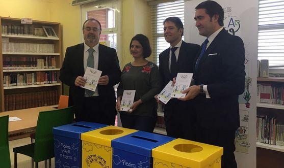 Fernando Rey, Elena Cojo, Óscar Martín y Juan Carlos Suárez-Quiñones.