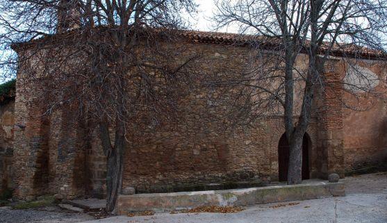 imagen de la ermita del Barrio, en Ágreda.