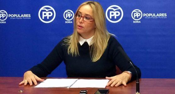 María José Fuentes, viceportavoz del PP en el Ayuntamiento capitalino.