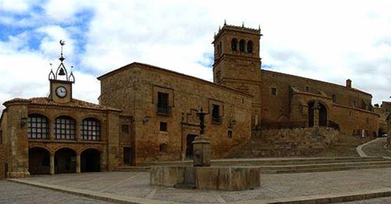 Plaza Mayor de Morón de Almazán. /SN