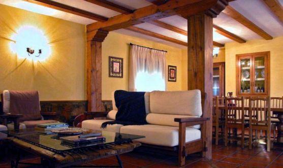 Interior de una casa rural en Ventosilla de San Juan. /SN