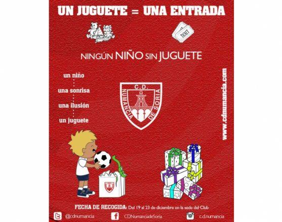 Campaña solidaria del club rojillo./CDN